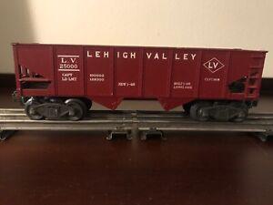 Lionel #6456, Lehigh Valley Coal Short Hopper w/ Original Box, ca. 1948
