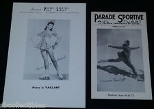 1940'S LA PARADE SPORTIVE - BARBARA ANN SCOTT + ARIANE LE VAILLANT - PHOTOS (2)