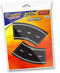 "New PLAYTAPE 2"" Tight Curves ROAD TAPE 4-Pack Kids Racing Cars Trains Accessory"