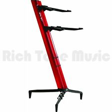 Quiklok Stay Keyboard Stand Tower Dual-tier Aluminum - Red