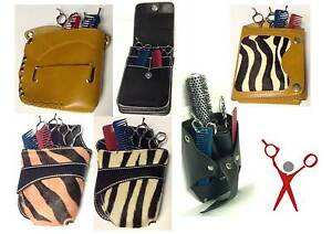 Professional Hairdressing/Stylist Scissors Pouch, Holster Bag Belt - All Designs