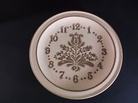 Pfaltzgraff Village Clock face dinner plate