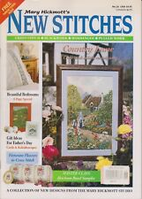 Mary Hickmott's New Stitches No.26 1995 Cross Stitch Blackwork Hardanger