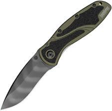 Kershaw Blur Linerlock A/O Tiger St Folding Knife 1670OLTS