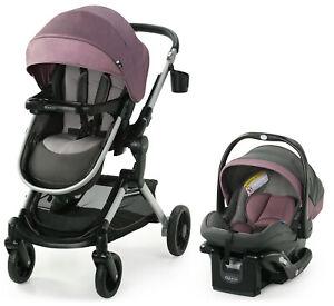 Graco Modes Nest Travel System Stroller with SnugRide 35 Elite Car Seat Norah