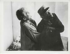"""THE HAUNTED STRANGLER""-ORIGINAL PHOTO-KARLOFF CHOKES VICTIM"