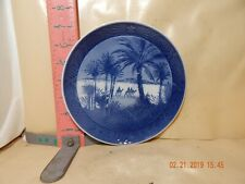 Royal Copenhagen Christmas Plate - 1972 , In The Desert