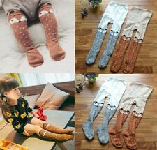 Baby Kleinkind Mädchen Fuchs Muster Strumpfhose Leggings Socken Strümpfe