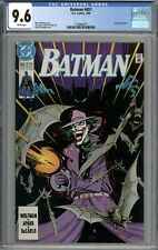 Batman #451 CGC 9.6 NM+ Joker Cover and Appearance WHITE PAGES