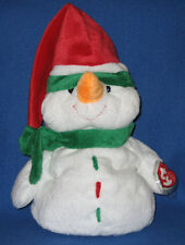 ICEBOX the SNOWMAN - TY PLUFFIES - MINT with MINT TAGS