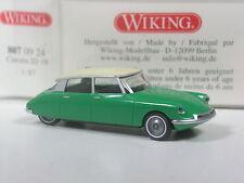 Rare: série wiking modèle CITROEN ID 19 vert-blanc en OVP