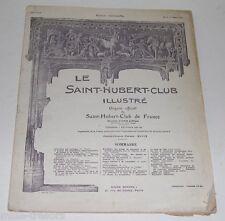 Le SAINT-HUBERT-CLUB Illustré : N°3 du 1er Mars 1924 - Chasse - Armes - Perdrix