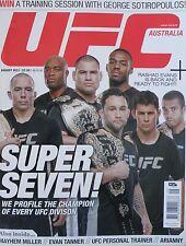 UFC Australia Magazine Issue 5 August 2011 20% Bulk Magazine Discount