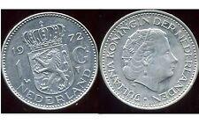 PAYS BAS  1  gulden  1972