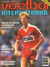 V.I. 1986 nr. 34 - FC UTRECHT/TONY MORLEY/VEENDAM/CEES SCHAPENDONK
