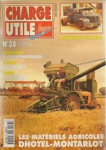 CHARGE UTILE 38 AUTOCAR CITROEN HEULIEZ TYPE 60 DELAHAYE 89 & 95 VMA SIDES