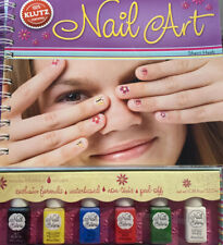 Nail Art - Fun Kids How To Nail Painting And Design - Klutz Book & Activity Kit