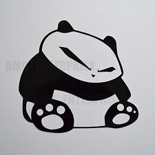 Sticker autocollant panda noir en vinyle pour Suzuki Swift Sport Grand Vitara SX4 SPLASH