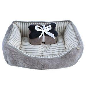 Orthopedic Ellen Degeneres Joint Relief Bolster Dog Bed