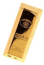BRIQUET LINGOT D OR GOLD BRIQUET RECHARGEABLE DE LUXE