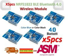 5pcs CORE51822 BLE4.0 Bluetooth Wireless Module NRF51822 Communication Board