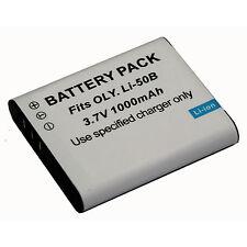 Battery Fo Olympus Li-50B Tough TG-610 TG-620 TG-630 TG-810 TG-820 TG-830 TG-850