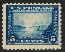 UNITED STATES (US) 403 MINT LH F-VF 5c PAN PACIFIC PERF 10
