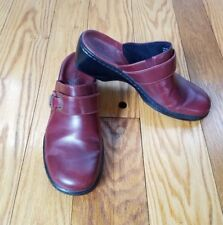 Clarks Womens Slip on Mule Shoes sz 8.5 M