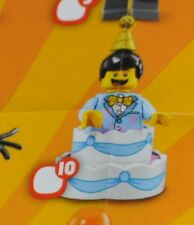 BIRTHDAY CAKE GUY Lego Minifigure Series #18 MiniFig (SEALED) Mascots 71021