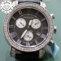 BENNY & CO. DIAMOND BEZEL CHRONOGRAPH MEN'S WATCH