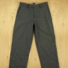 the GAP wool blend flat front pants, size 31 x 30, dark gray grey