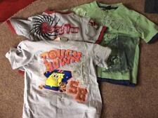 Bundle Boys 3 T Camicie Scooby Doo, SPONGEBOB accanto Surfer età 4-5 G1p