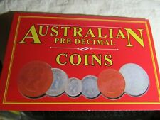 PRE DECIMAL COINS one of each   6 COINS    50% SILVER  & COPPER,