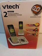 Vtech Cs6429-2 Dect 6.0 Expandable Cordless Phone with Answering System and Call