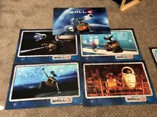 Disney Store Pixar WALL-E Litho Set with 4 Exclusive Lithographs In Sleeve