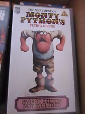 The Very Best of Monty Python's Flying Circus video cassette tape VHS