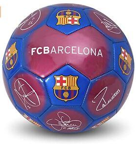 FC Barcelona Ball Barca Signature Ball Size 5 - Fast Dispatch Free P&P