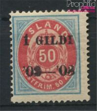 Iceland 33A with hinge 1902 print edition (8984116