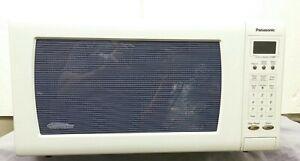 Panasonic Genius Sensor 1.6 Cu. Ft. 1250W Countertop Microwave Oven with Invert
