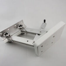 White Aluminum Outboard Mount Motor Bracket Trolling Dingy Auxiliary 115lbs Nice