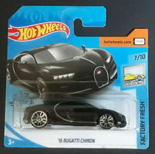 Hot Wheels 2020 ´16 BUGATTI CHIRON FACTORY FRESH BLACK,Neu,OVP