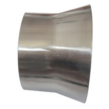 """CXRacing 5"""" to 4'' OD Weld On Aluminum Reducer Pipe 2mm Thick 3"""" Long"""
