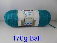 Caron Simply Soft 170g Knitting Crochet Needlecraft 60 Colors by Woolexpress Cool Green