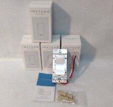 New 4 Insteon 2477D SwitchLinc Dimmer Switches, 600W - White - New In Box
