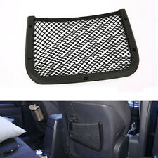 2pcs Car Truck Rear Seat Storage Pouch Mesh Net Pocket Luggage Organizer Holder