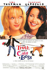 THE TRUTH ABOUT CATS AND DOGS (1996) ORIGINAL MOVIE POSTER  -  ROLLED