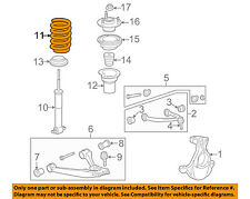 GM OEM Front Suspension-Spring 15815635