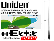 UNIDEN AT970BK FIBREGLASS UHF CB ANTENNA 6.6 DBI *BRAND NEW* HEKTIK GROUP