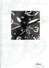 Sinn Katalogbuch 2006 D Uhrenkatalog Prospekt Armbanduhren brochure watches