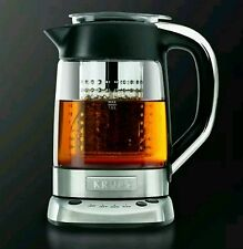 NEW! KRUPS FL700D Electric Kettle with Incorporated Tea Infuser, (Silver)